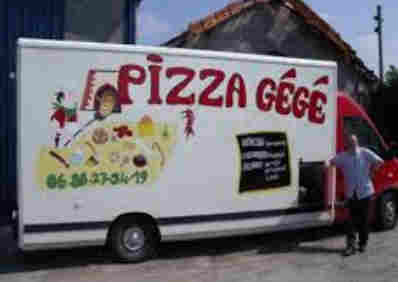 Pizza Gégé is good, truck pizzeia: Jonzac, Baignes, Archiac, Barbezieux